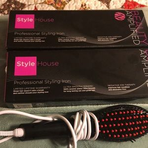 Electric styling Iron Electric Heated Brush